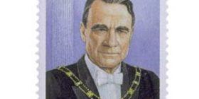 Presidentti Mauno Koivisto 70 vuotta  postimerkki 2