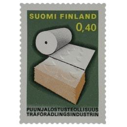 Puunjalostusteollisuus  postimerkki 0