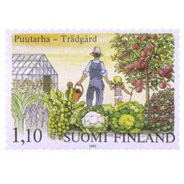 Puutarha  postimerkki 1
