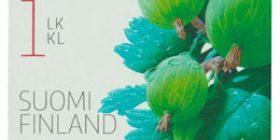 Puutarhamarjoja - Karviainen  postimerkki 1 luokka
