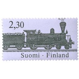 Rautatiepostinkuljetus - Veturi A 5  postimerkki 2