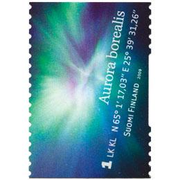 Revontulia - Revontulikruunu  postimerkki 1 luokka