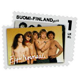 Rock'N'Pop - Eppu Normaali  postimerkki 1 luokka