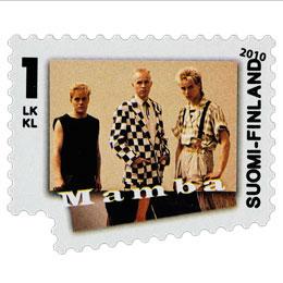 Rock'N'Pop - Mamba  postimerkki 1 luokka