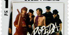 Rock'N'Pop - Popeda  postimerkki 1 luokka
