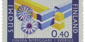 Ruotsin suomalaisraivaajat  postimerkki 0