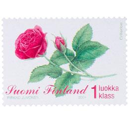 Ruusu  postimerkki 1 luokka