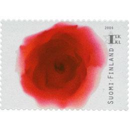 Ruusunkukka  postimerkki 1 luokka