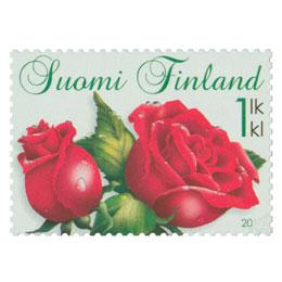 Ruusut  postimerkki 1 luokka