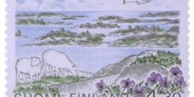 Saaristomeren kansallispuisto  postimerkki 4
