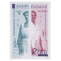 Sairaanhoito Suomessa  postimerkki 2