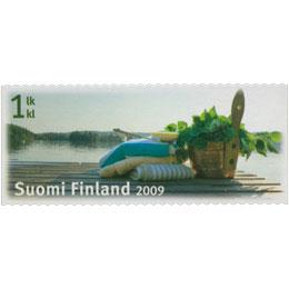 Sauna - Laituri  postimerkki 1 luokka