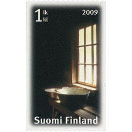 Sauna - Pesuvati  postimerkki 1 luokka