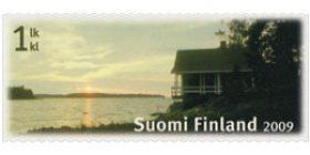 Sauna - Saunaranta  postimerkki 1 luokka