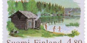 Sauna  postimerkki 4