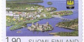Savonlinna 350 vuotta  postimerkki 1