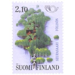 Seurasaaren ulkomuseo  postimerkki 2