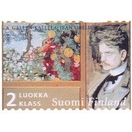Sibelius - Satu  postimerkki 2 luokka