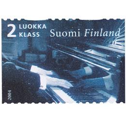 Sibelius - Sibelius soittaa  postimerkki 2 luokka