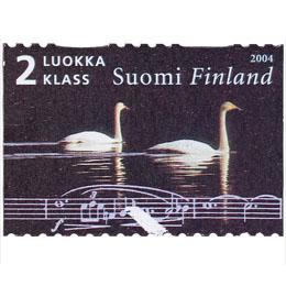 Sibelius - Tuonelan Joutsen  postimerkki 2 luokka