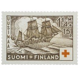 Sota-aluksia - Parkki Thornborg ruskea postimerkki 1