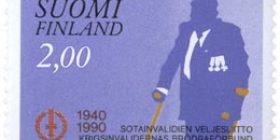Sotainvalidien Veljesliitto 50 vuotta  postimerkki 2 markka