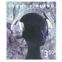 Suomalainen muotoilu - Ergo-kuulosuojaimet  postimerkki 3