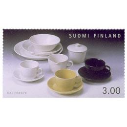 Suomalainen muotoilu - Kilta-astiat  postimerkki 3 markka