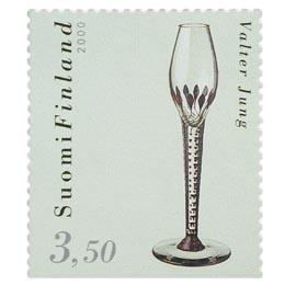 Suomalainen muotoilu - Lasimaljakko  postimerkki 3