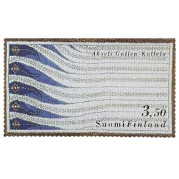 Suomalainen muotoilu - Liekki-ryijy  postimerkki 3