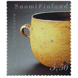 Suomalainen muotoilu - Pata  postimerkki 3