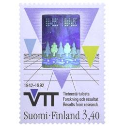 Suomalainen teknologia - VTT  postimerkki 3