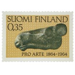 Suomen Taiteilijaseura 100 vuotta  postimerkki 0