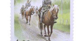 Suomenhevonen - Sotahevonen  postimerkki 4
