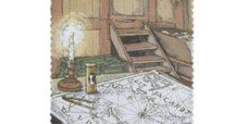 Suomenlahti - Kapteenin hytti  postimerkki 1 luokka
