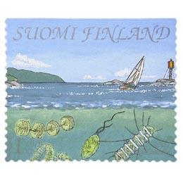 Suomenlahti - Ulkosaaristoa  postimerkki 1 luokka