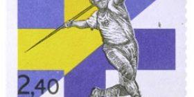 Suomi - Ruotsi -maaottelu  postimerkki 2