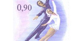 Taitoluistelun EM-kilpailut  postimerkki 0