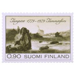 Tampere 200 vuotta  postimerkki 0