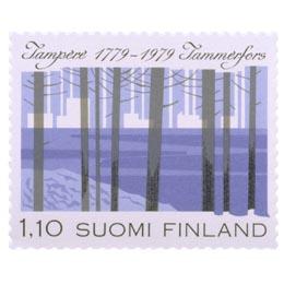 Tampere 200 vuotta  postimerkki 1