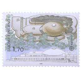 Tampereen kaupunginkirjasto Metso  postimerkki 1
