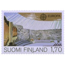 Temppeliaukion kirkko  postimerkki 1