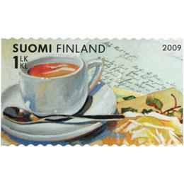Terveisin! - Kirje  postimerkki 1 luokka