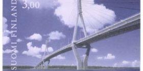 Tie - Raippaluodon silta  postimerkki 3 markka