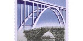 Tie- ja vesirakennuslaitos 175 vuotta  postimerkki 0