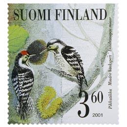 Tikkalintuja - Pikkutikka  postimerkki 3