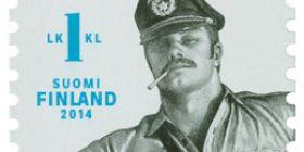 Tom of Finland  postimerkki 1 luokka