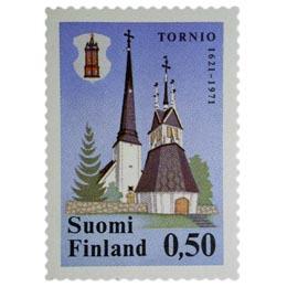 Tornio 350 vuotta  postimerkki 0