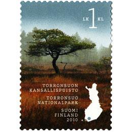 Torronsuon kansallispuisto  postimerkki 1 luokka