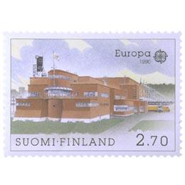 Turun postikeskus  postimerkki 2